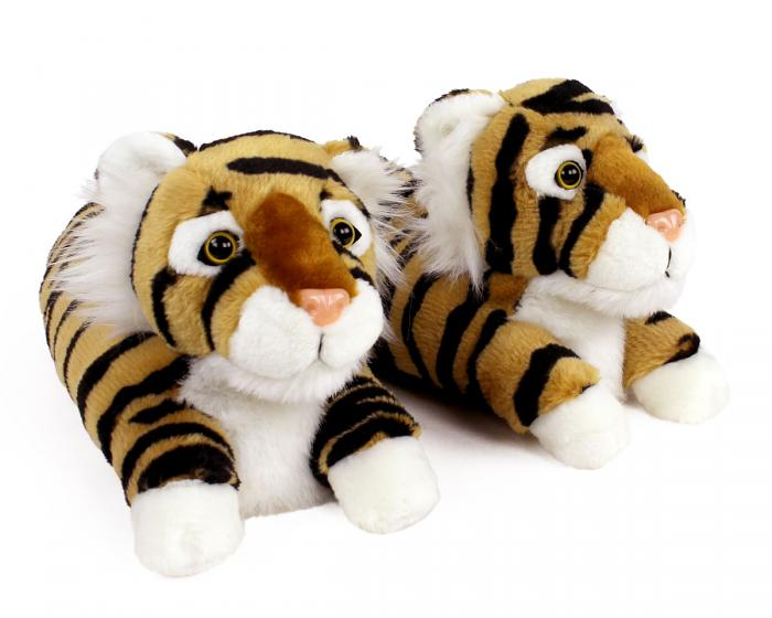 Tiger Slippers 3/4 View