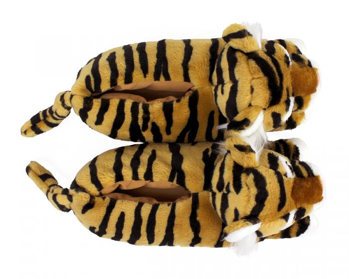 Tiger Slippers Top View