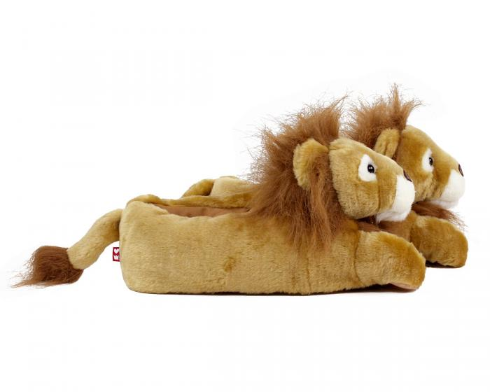 Lion Slippers Side View