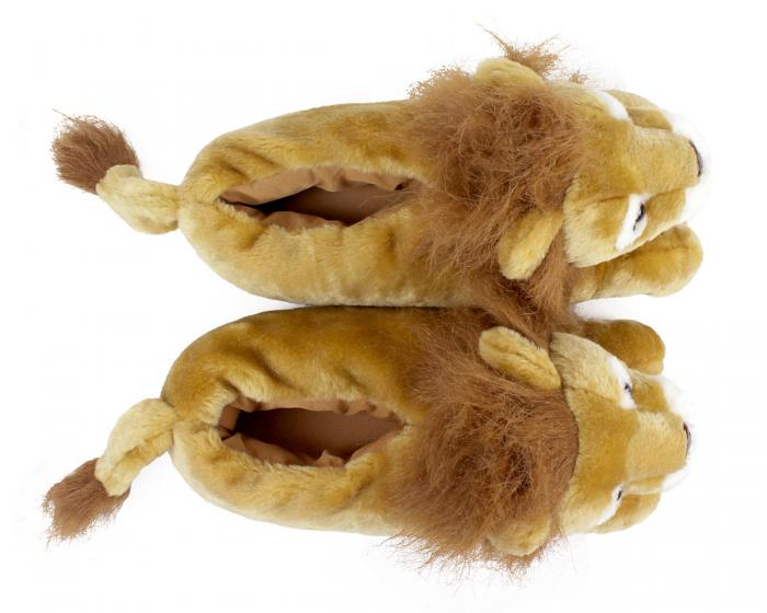 Lion Slippers Top View