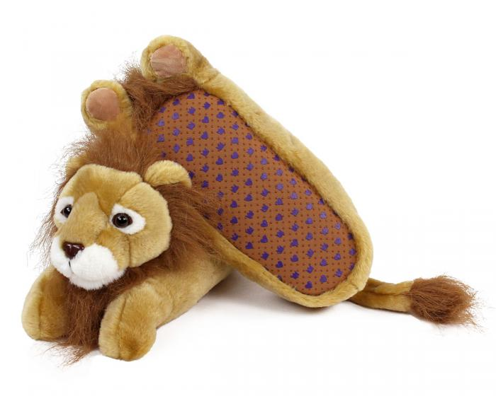 Lion Slippers Bottom View