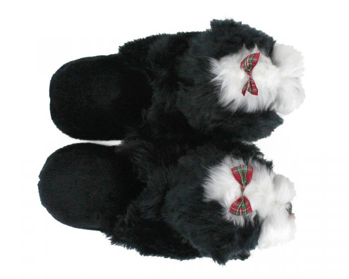 Shih-Tzu Dog Slippers Top View