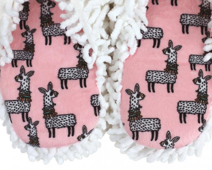 Llama Spa Slippers Close Up