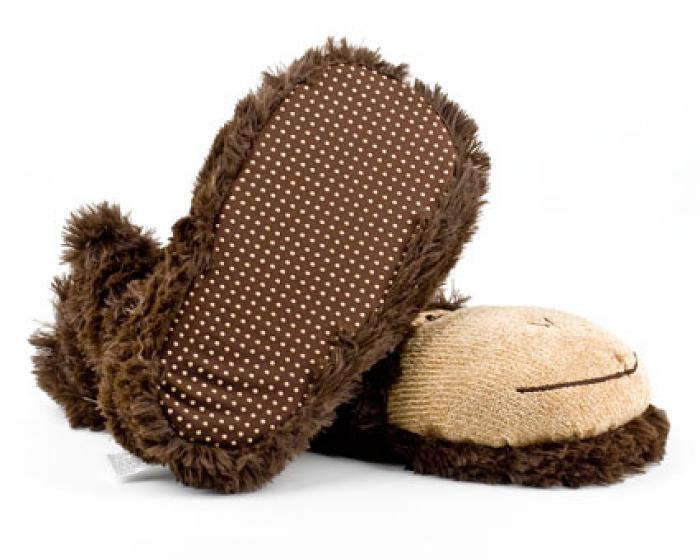 Monkey Sock Slippers 2