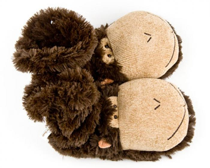 Monkey Sock Slippers 3