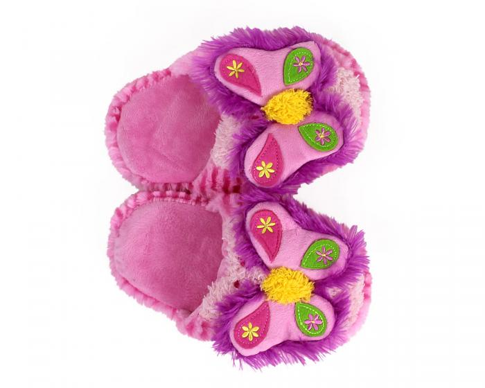 Kids Butterfly Slippers Top View