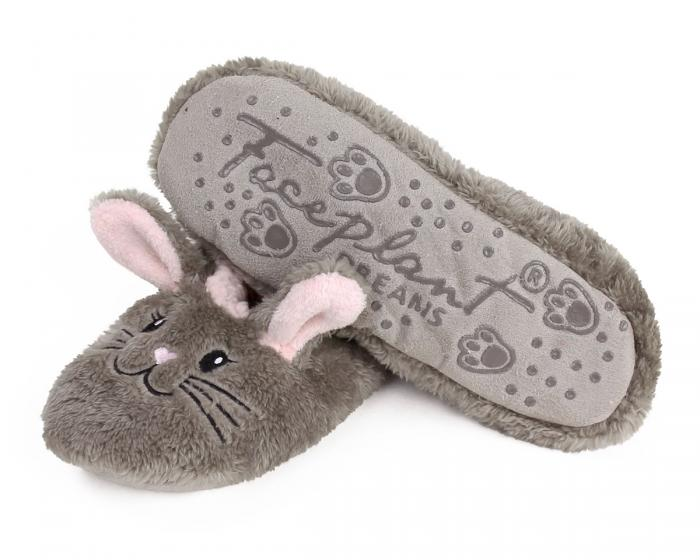 Snuggle Bunny Sock Slippers Bottom View