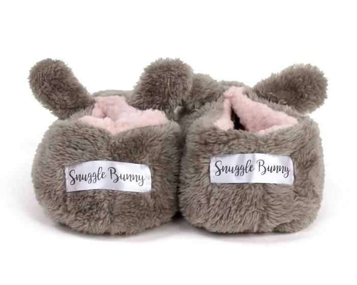 Snuggle Bunny Sock Slippers Back View