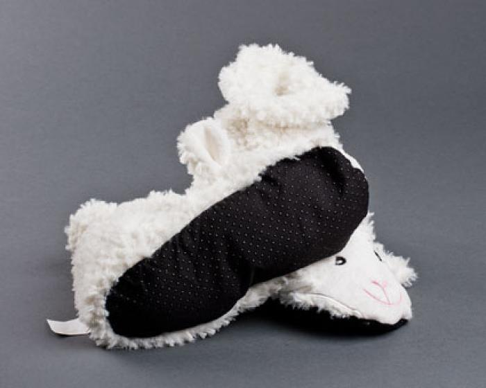 Microwaveable Sheep Slippers 3