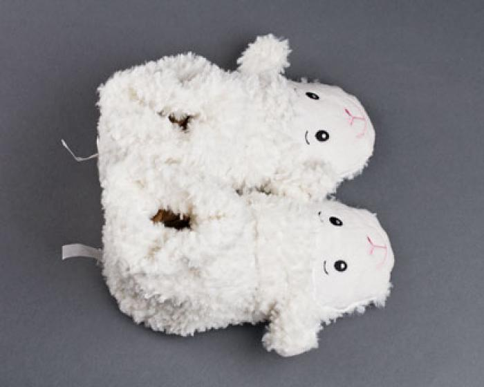Microwaveable Sheep Slippers 4