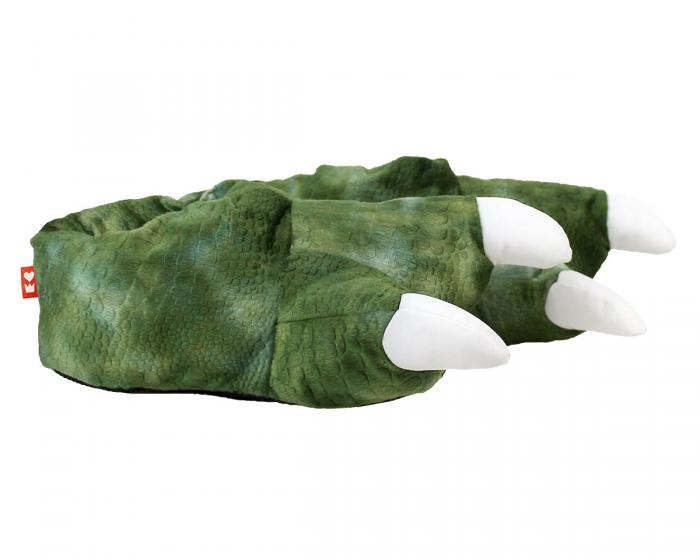Dinosaur Feet Slippers With Sound Side View