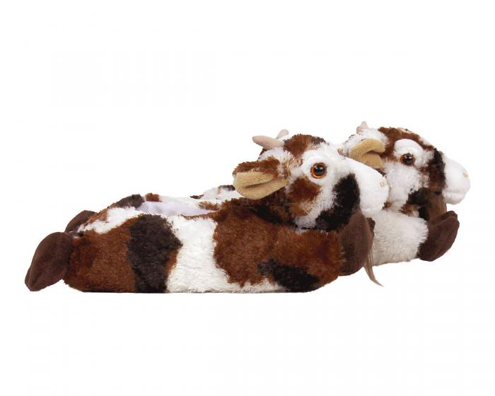Kids Goat Slippers Side View