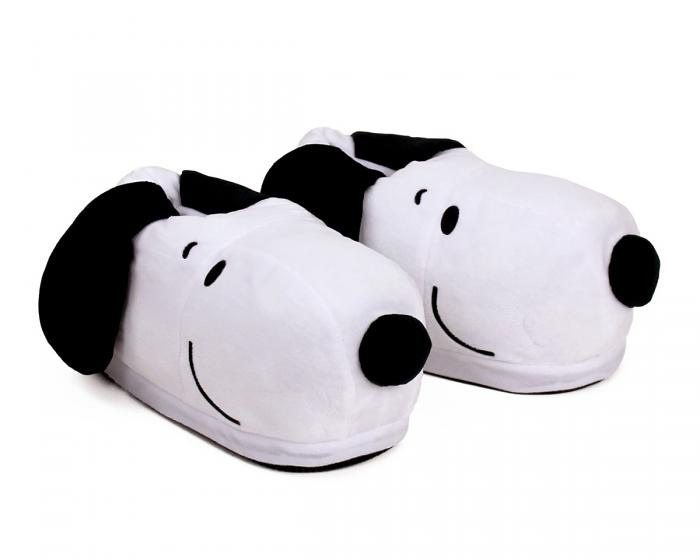 Snoopy USB Heated Slippers 3/4 View