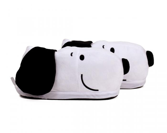 Snoopy USB Heated Slippers Side View