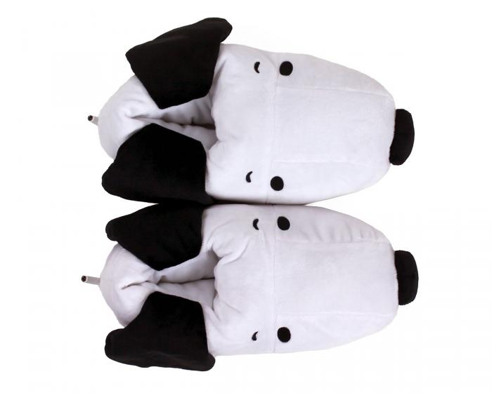 Snoopy USB Heated Slippers Top View