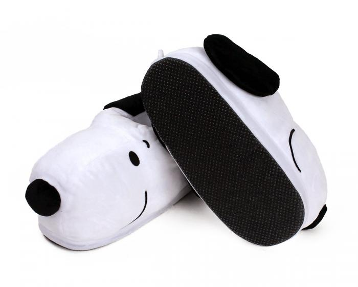 Snoopy USB Heated Slippers Bottom View