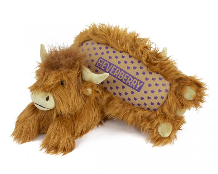Highland Cattle Slippers Bottom View