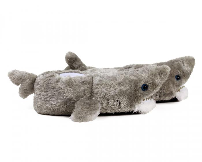 Great White Shark Slippers Side View