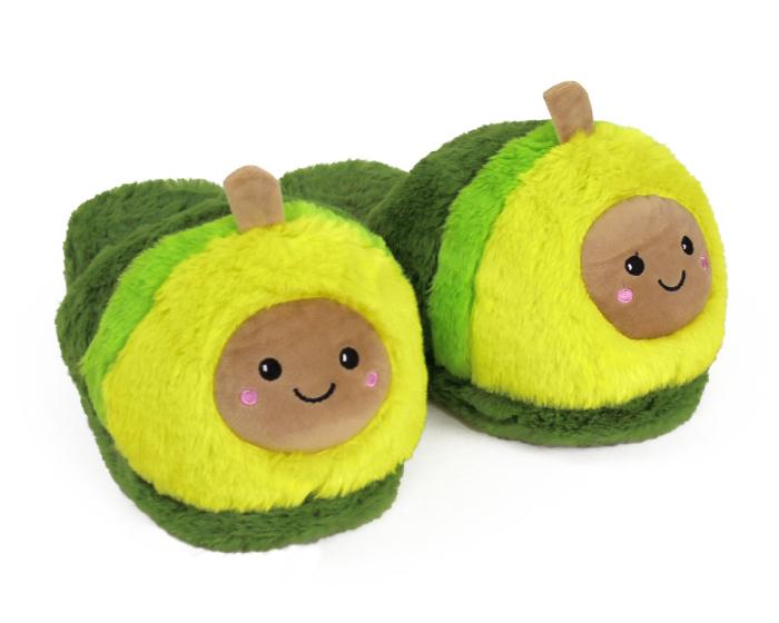 Avocado Slippers 3/4 View