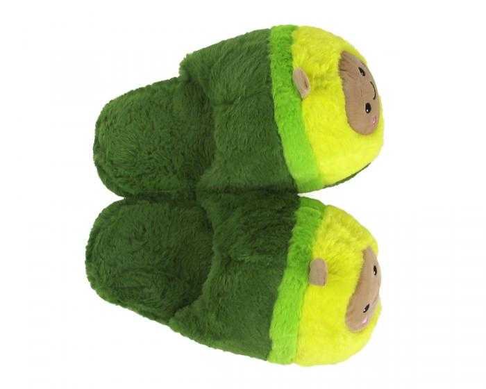Avocado Slippers Top View