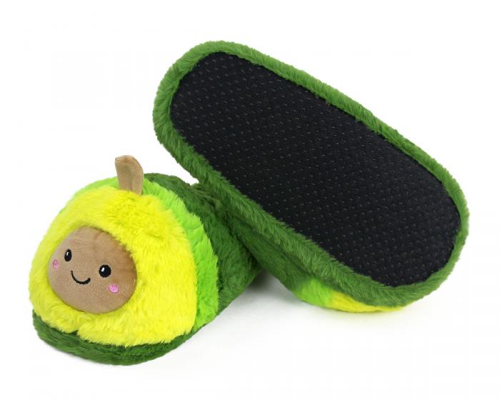 Avocado Slippers Bottom View