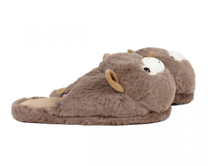 Llama Slippers Side View