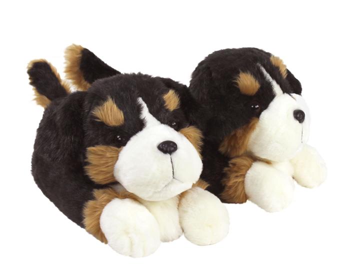 Bernese Mountain Dog Slippers 1