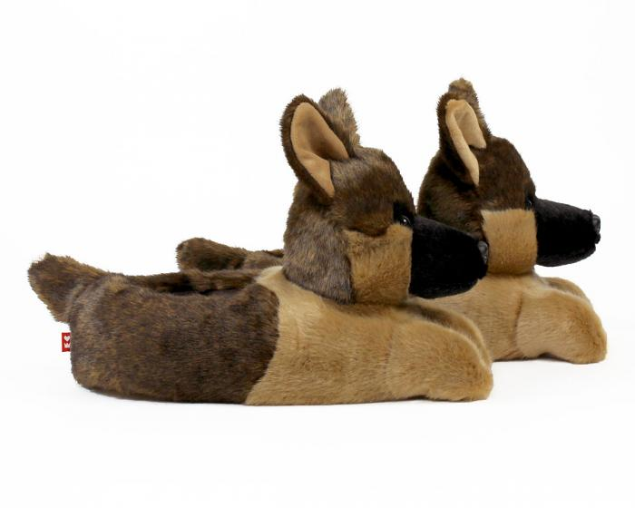 German Shepherd Slippers View 2