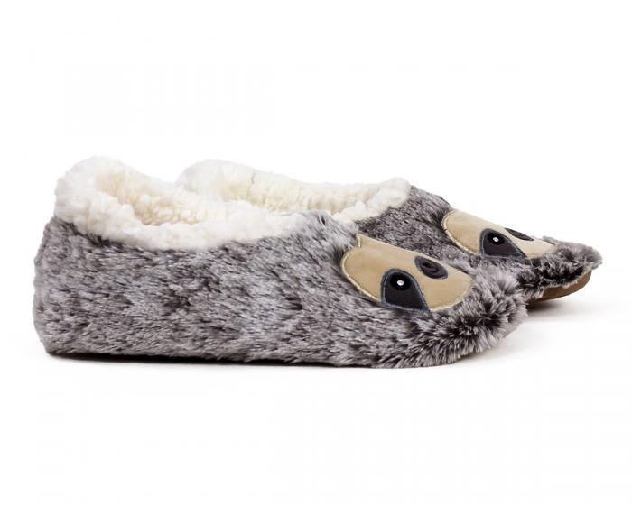 Sloth Sock Slippers Side View
