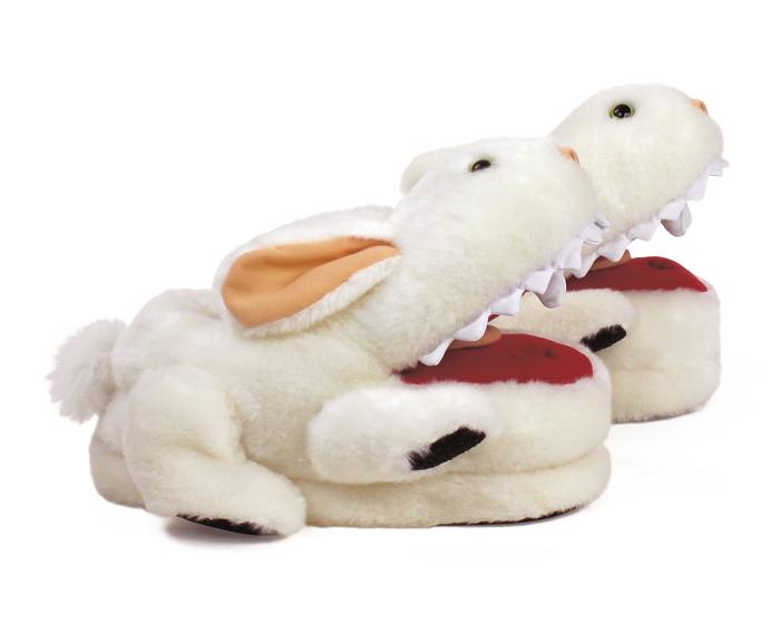 Monty Python Killer Rabbit Slippers Side View