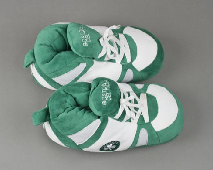 Boston Celtics Slippers 4