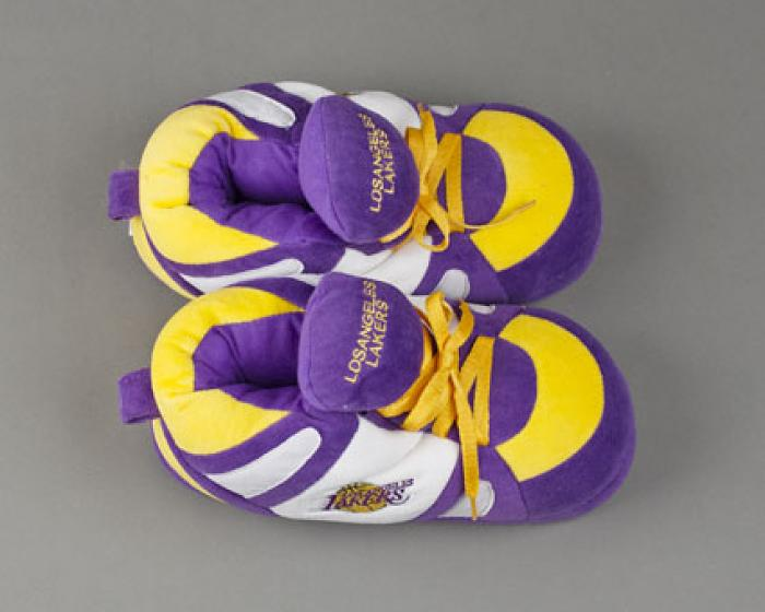 Los Angeles Lakers Slippers 4