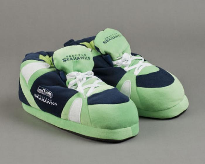 Seattle Seahawks Slippers 1