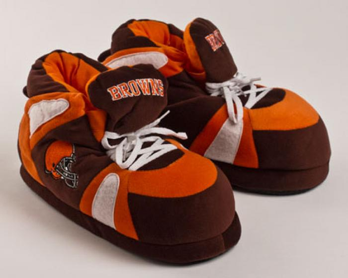 Cleveland Browns Slippers Football Slippers