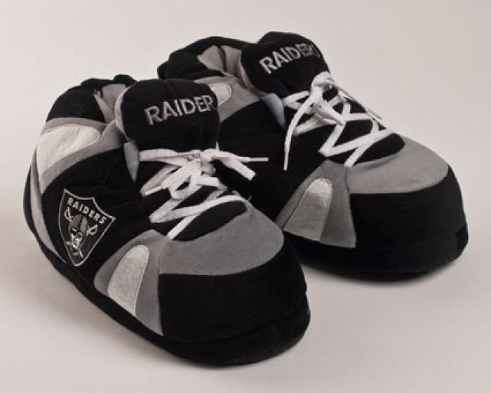 Oakland Raiders Slippers 1