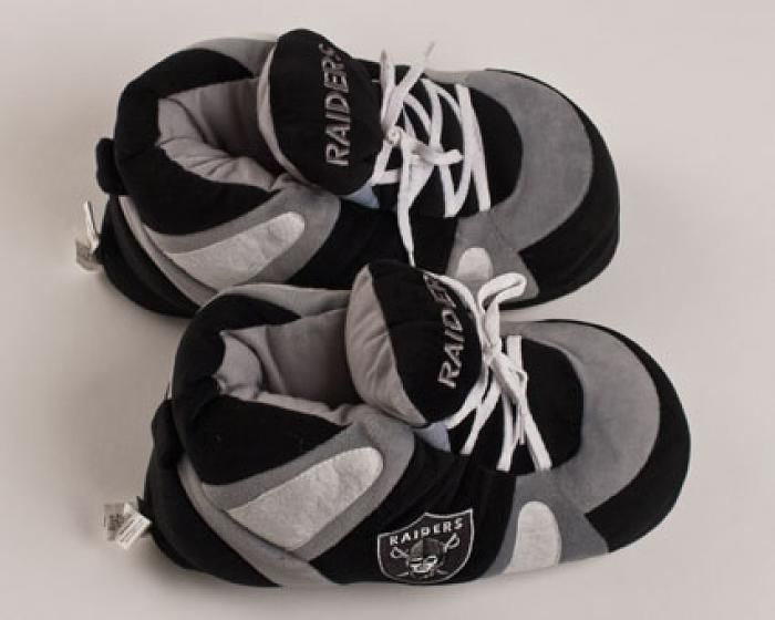 96fa49131f1c Oakland Raiders Slippers    Sports Team Slippers    Novelty Slippers