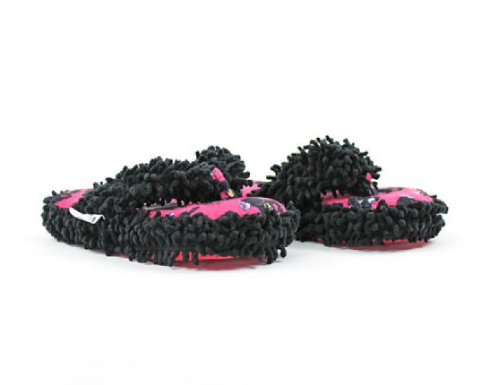 Black Bear Spa Slippers 1