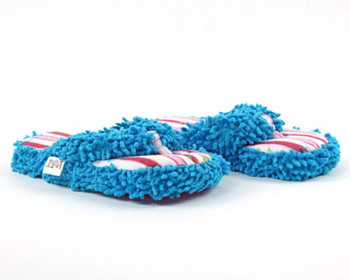 Bear Stripe Spa Slippers 1