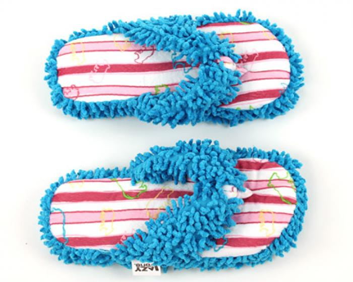 Bear Stripe Spa Slippers 4
