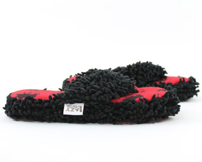 Classic Red Moose Spa Slippers 2