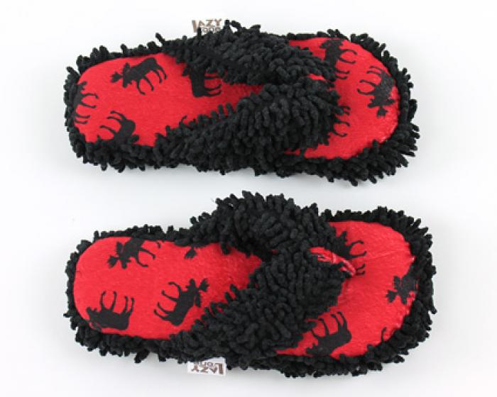 Classic Red Moose Spa Slippers 4