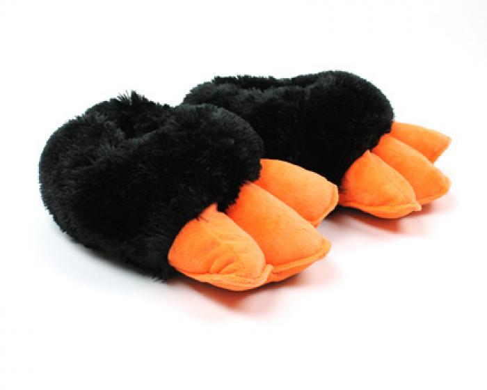 Penguin Feet Slippers With Sound 1