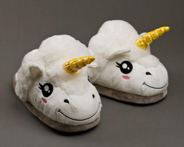 Unicorn Slippers 1