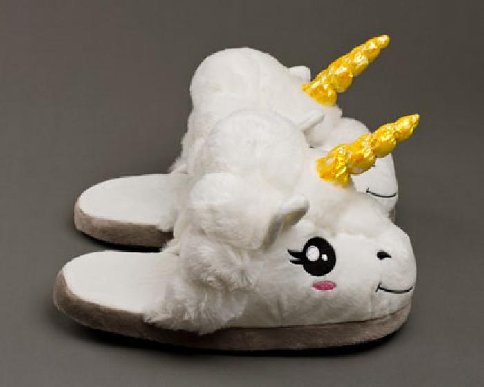 Unicorn Slippers 2