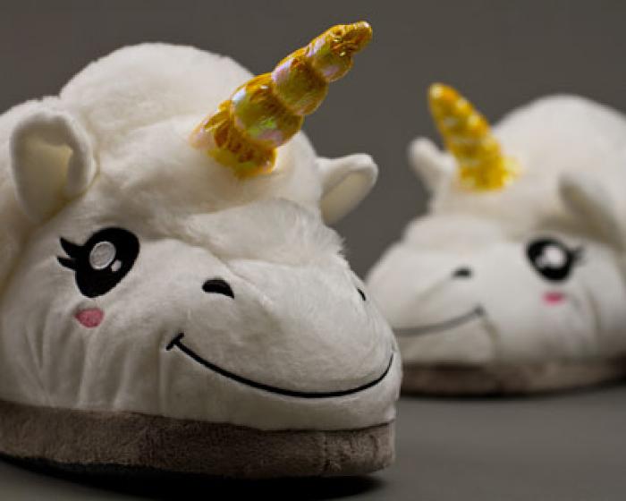 Unicorn Slippers 4