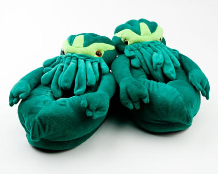 Cthulhu Slippers 1