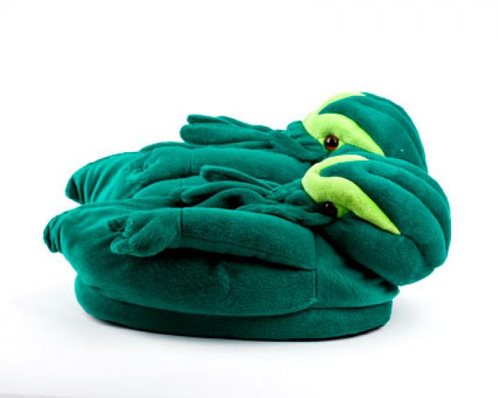 Cthulhu Slippers 2