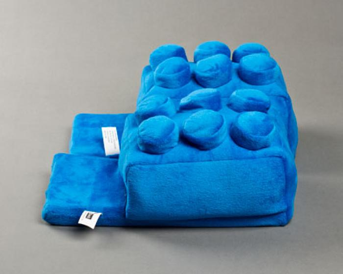 Blue Building Block Slippers 2