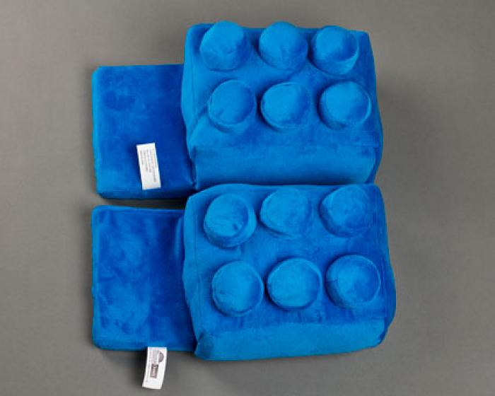 Blue Building Block Slippers 4