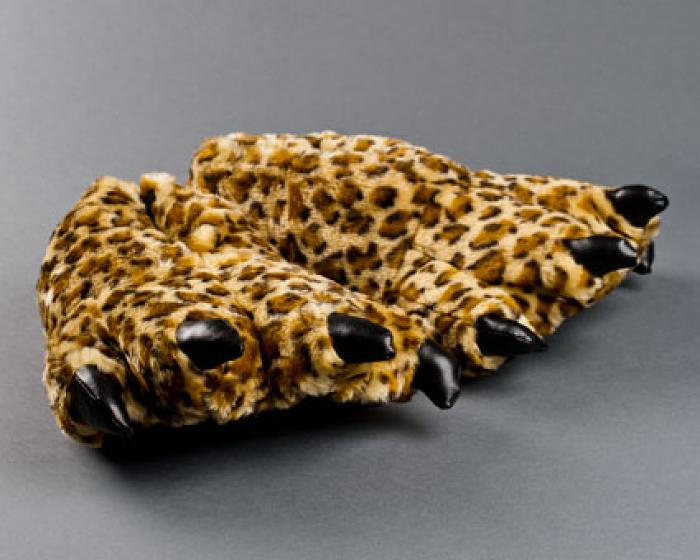 Leopard Paw Slippers 1